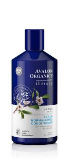Dầu xả thiên nhiên dành cho da đầu hư tổn Avalon Organics Tea Tree Mint Scalp Normalizing Shampoo 397g (Mỹ) thumbnail