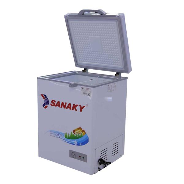 Tủ đông Sanaky mặt kính 1 chế độ ( xám ) VH-1599HYKD 100 Lít Công nghệ đèn LED tiên tiến tiết kiểm 60% điện năng. Công nghệ làm lạnh nhanh Compressor.