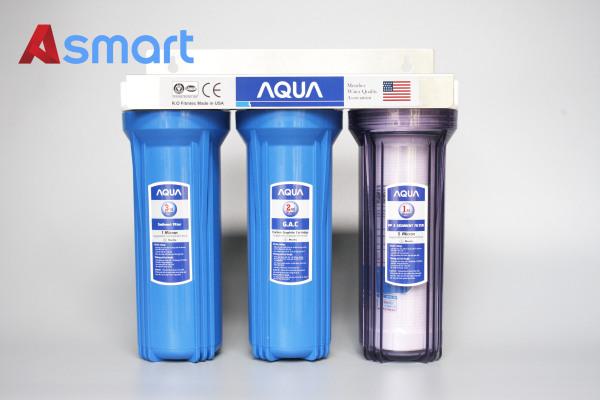 Bảng giá Bộ 3 cốc lọc thô Aqua 10 inch Điện máy Pico