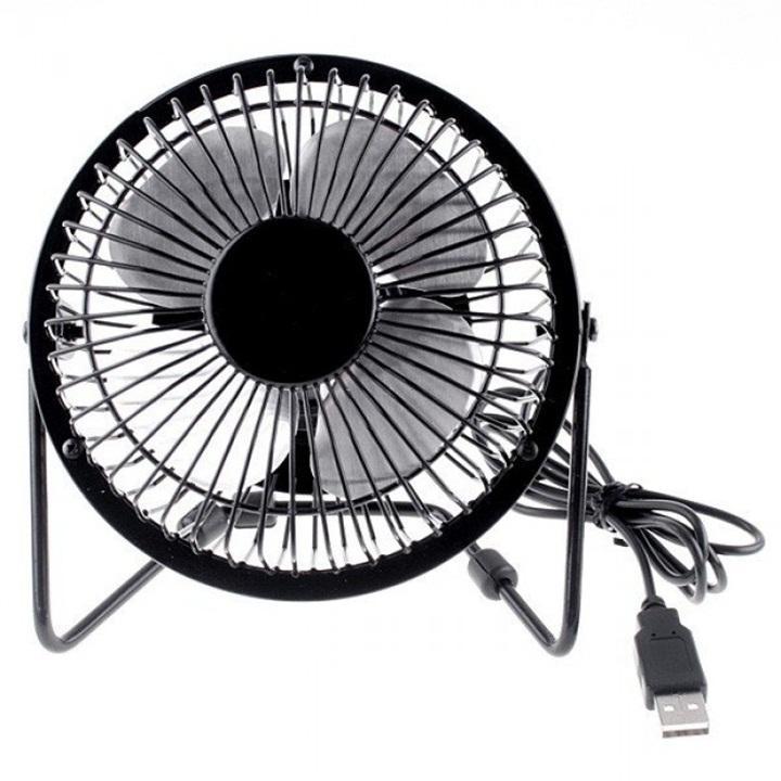 Quạt Lồng sắt USB Mini Fan (Màu ngẫu nhiên) - Kim Hải Computer - KHC Nhật Bản