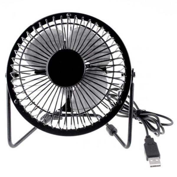 Quạt Lồng sắt USB Mini Fan (Màu ngẫu nhiên) - Kim Hải Computer - KHC