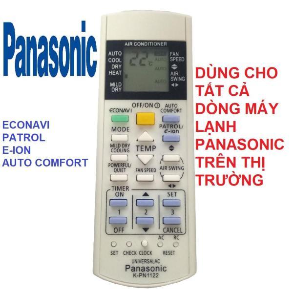 Remote điều khiển máy lạnh PANASONIC K-PN1122 - ĐIỀU KHIỂN ĐIỀU HÒA PANASONIC - ĐIỆN TỬ TUỆ LÂM  (Dùng cho tất cả các đời máy lạnh PANASONIC)