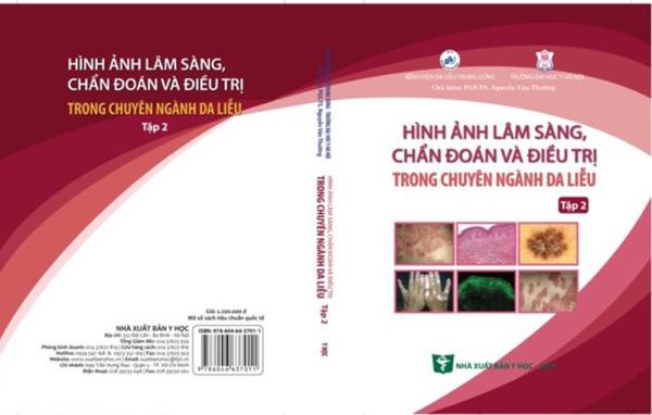 Mua Hình ảnh Lâm sàng, chẩn đoán và điều tri trong chuyên ngành da liễu (Tập 2 - Sách ảnh mầu 100% Couche)