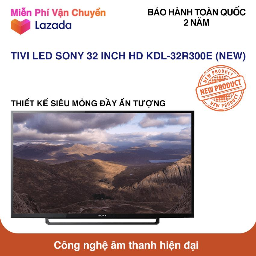 Tivi Led Sony 32 inch HD - Model 32R300E (Đen) NEW 100%
