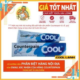 Dầu Xoa Bóp Counterpain Lạnh Màu Xanh - Cool - Đủ Size 30g - 60g -120g - Hàng Chuẩn Nội Địa Thái Lan thumbnail