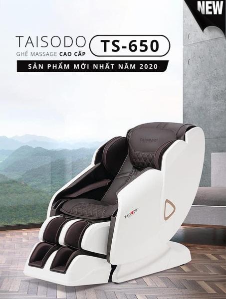 Ghế massage liên động tự động massage toàn thân thời thượng quý phái trị liệu Nhật Bản TAISODO TS-650