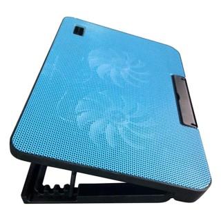 Đế tản nhiệt laptop 2 quạt N99 chịu lực tốt- 2 fan - chỉnh được độ cao thấp thumbnail