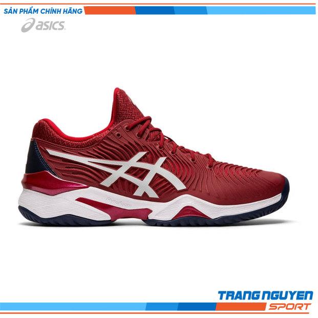 Giày Tennis Asics COURT FF NOVAK | màu Burgundy/White | mã 1041A089.600 giá rẻ