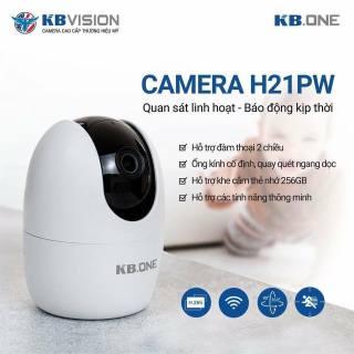 [NHÀ PHÂN PHỐI] Camera IP WIFI 360 KN-H21PW KBONE KBVISION - Bình Minh Company thumbnail