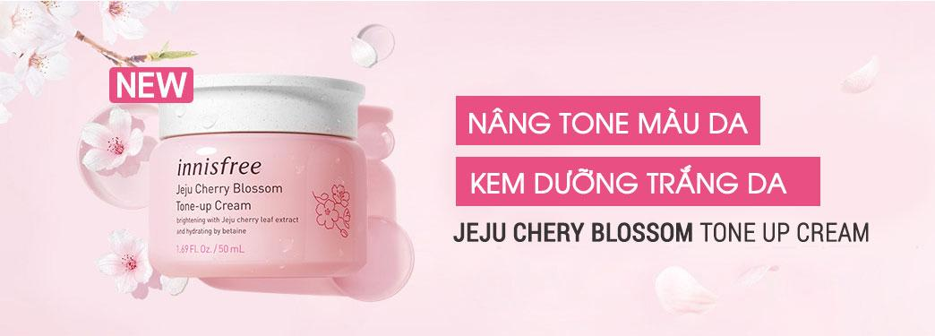 Kem Dưỡng Trắng Innisfree Jeju Cherry Blossom Tone-Up Cream