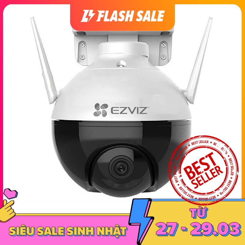 [Nhập ELAPR21 giảm 10% tối đa 200k đơn từ 99k][VOUCHER 50K] Camera Wifi EZVIZ C8C Full Color xoay thông minh Full HD 1080P (Chuẩn nén H.265 nhận diện người AI màu ban đêm) Chế độ quan sát Ngày/Đêm ngay cả trong điều kiện không có ánh sáng - Saigon Technol