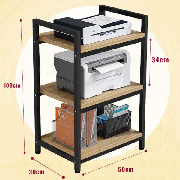 Kệ để máy in, tài liệu văn phòng tiện lợi, giá lưu trữ văn phòng gọn gàng ngăn lắp, giá trưng bày để đồ nhiều tầng tất cả trong một