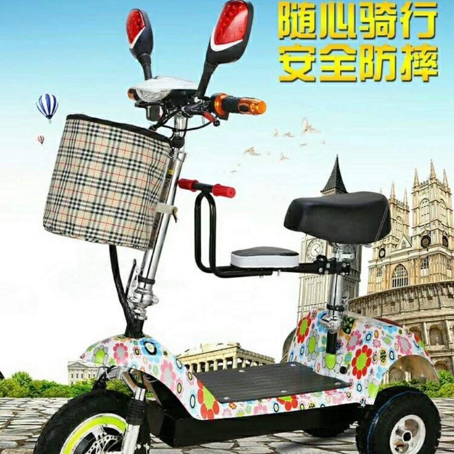 Giá bán Xe điện Escooter 3 bánh lớn @9