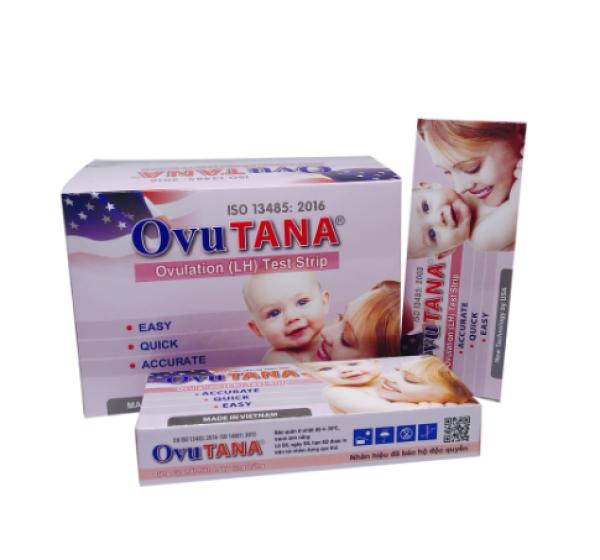 Hộp 12 que thử rụng trứng Ovutana cao cấp