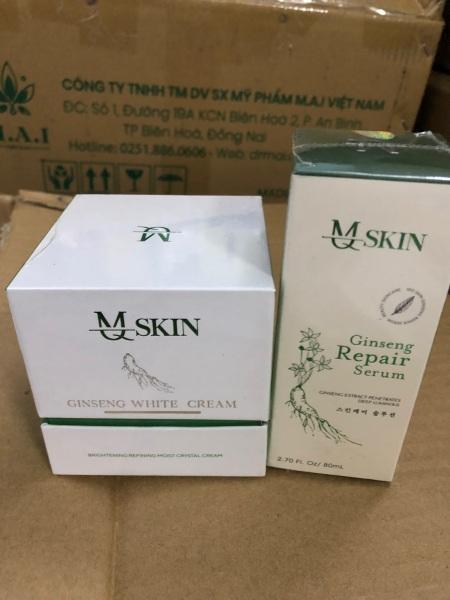 Combo srum thay da mqskin + kem face nhân sâm mqskin giá rẻ