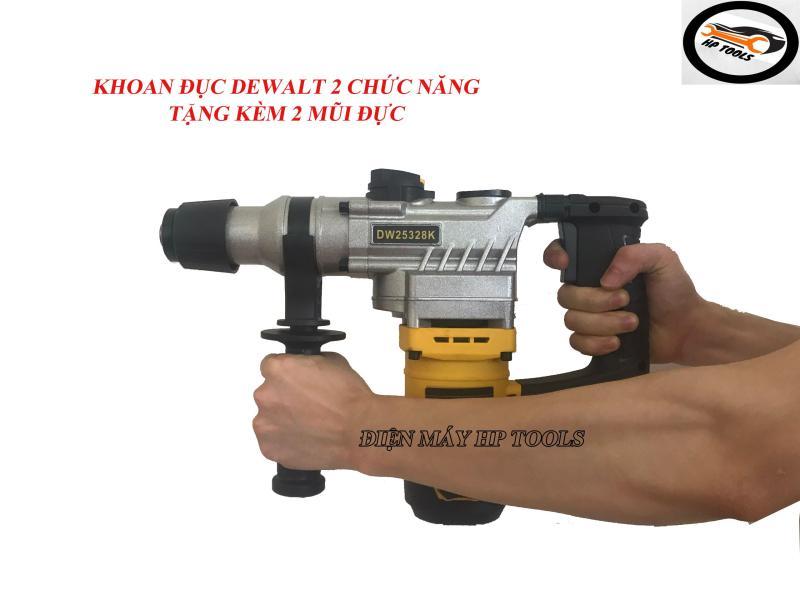 Máy Khoan Bêtông 2 Chức Năng DW25328K-Công Suất 1350W-Tặng Kèm 2 Mũi Đục