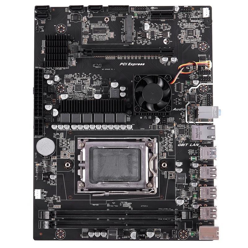 X89 Socket G34 Practical Desktop Computer Mainboard with SATA 2.0 USB 3.0 2 DDR3 1600 16G Motherboard for AMD