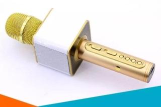 [Siêu Sốc]Micro Bluetooth Karaoke SD 08 hỗ trợ khe cắm thẻ nhớ, Mic bluetooth, Loa bluetooth, micro không dây Loa Bluetooth, Loa karaoke, Mic loa bluetooth, loa bluetooth, Micro Bluetooth, Micro không dây, mic bluetooth thumbnail