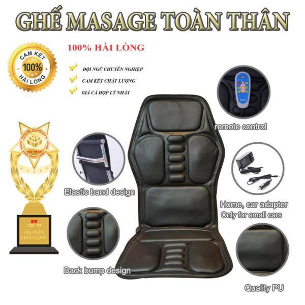 GiườNg, Đệm (Nệm) Massage Trị Liệu Toàn Thân. Đệm ghế tựa lưng dành cho người lớn tuổi
