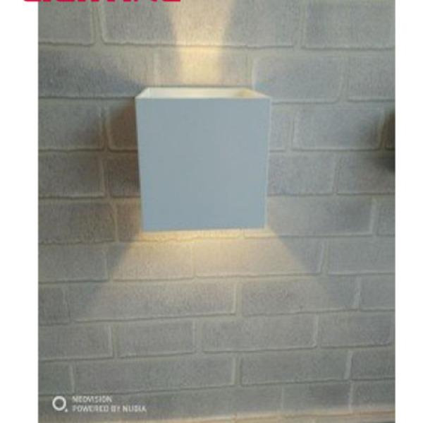 Đèn LED trang trí hắt tường 2 đầu 6W 8W chống nước Ánh sáng vàng Đèn Hắt Tường Trang Trí Led HC LIGHTING