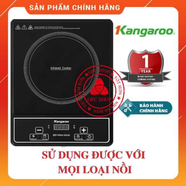 Bếp hồng ngoại đơn Kangaroo Model KG20IFP1 - Bảo hành chính hãng 1 năm