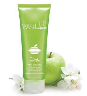 [HCM]Gel tẩy tế bào chết ngăn ngừa mụn tinh chất táo Mira Wash up empress peeling gel 120ml. thumbnail