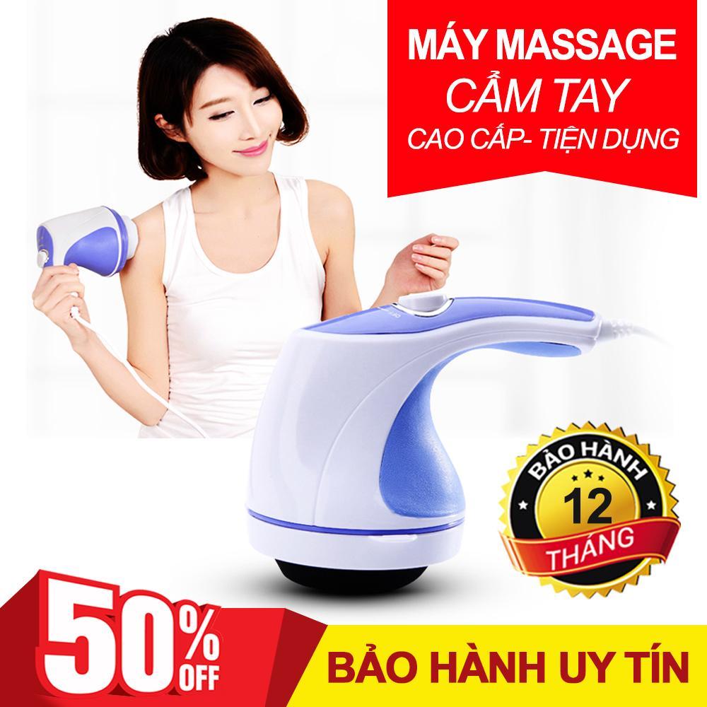Máy Massage Cầm Tay Cao Cấp, Máy Mát Xa Toàn Thân, Máy Đánh Tan Mỡ Bụng, Máy Massage Cầm Tay 5 Đầu Đánh (Relax) Cao Cấp Giá Rẻ Chất Lượng Vượt Trội Giảm Nhức Mỏi, Xả Trest Hiệu Quả