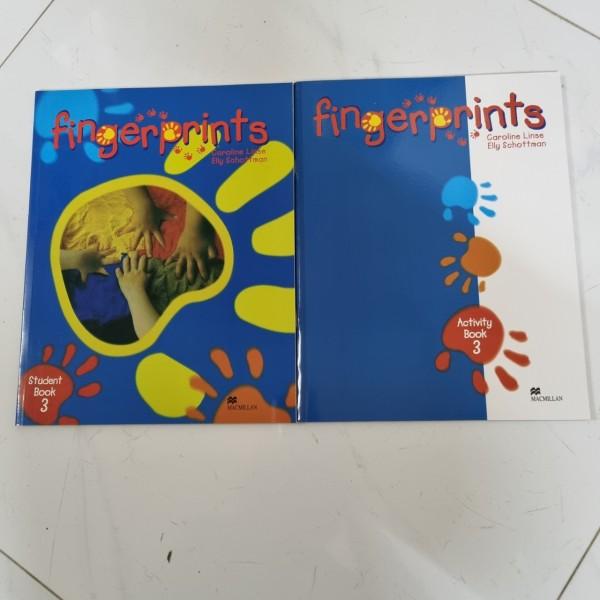 Bộ Finger Prints 3 ( bộ 2 cuốn ) cho bé tập làm quen với tiếng anh