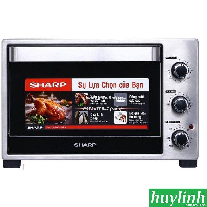 Giá Lò nướng điện Sharp EO-A323RCSV-ST -  32 lít