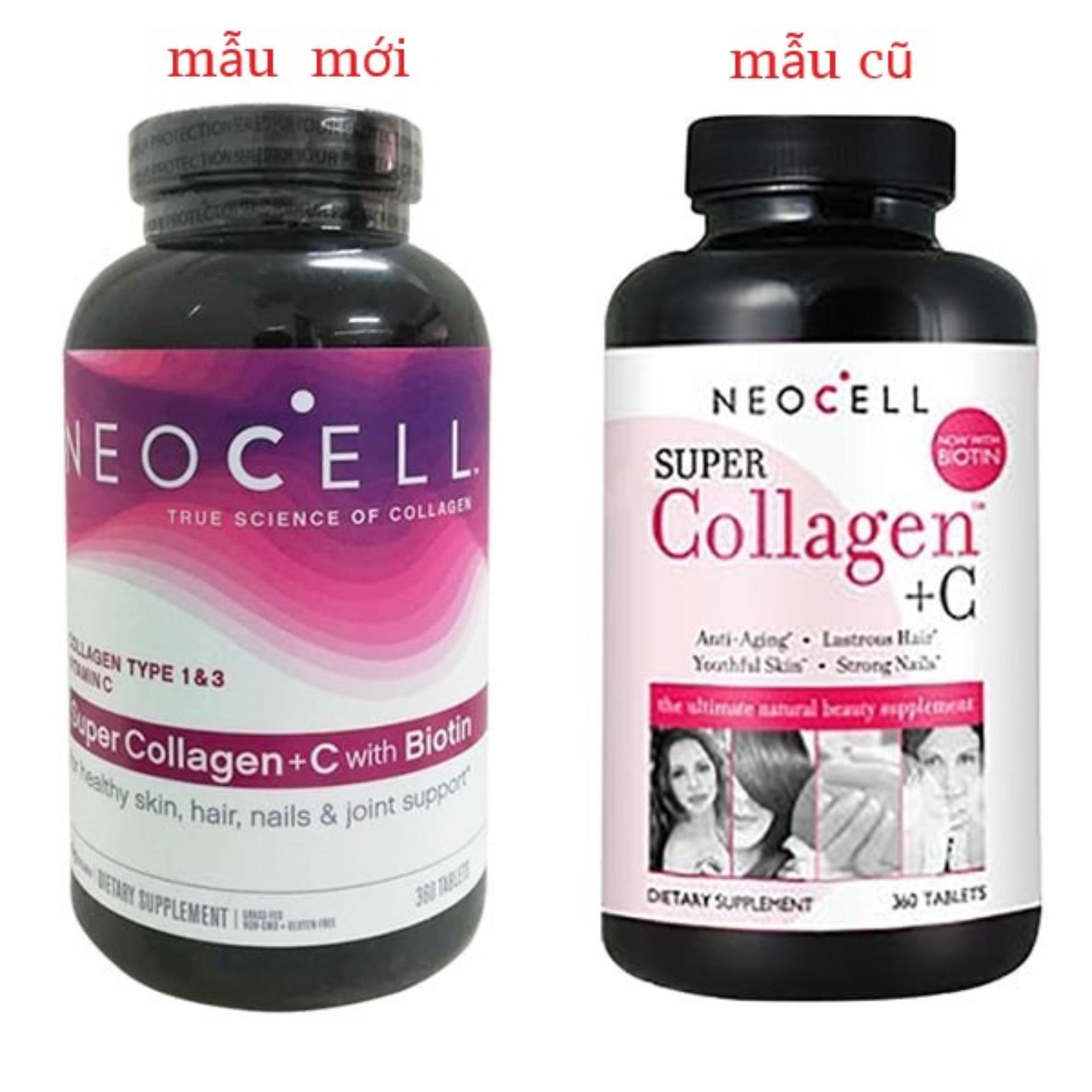 NeoCell Super Collagen +C Type 1&3 360 viên Mỹ