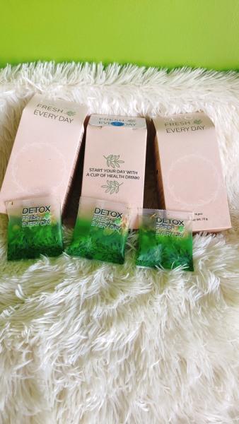 COMBO 3 hộp trà hoa giảm cân GO DETOX tách bộ