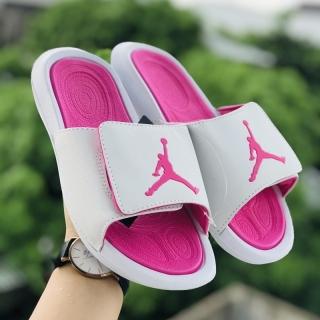 Dép quai ngang nữ thời trang jordan JD hydro 6 trắng hồng xinh xắn dễ thương - Ảnh thật Tặng hộp thumbnail