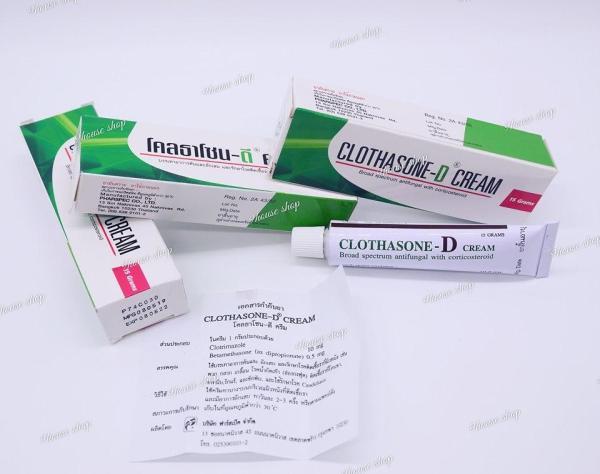 01Tuýp Bôi Nấm Móng CLOTHASONE-D Thái Lan 15gram nhập khẩu