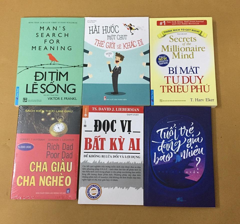 Mã Giảm Giá Combo 6 Quyển Sách Nên đọc Trước Tuổi 30