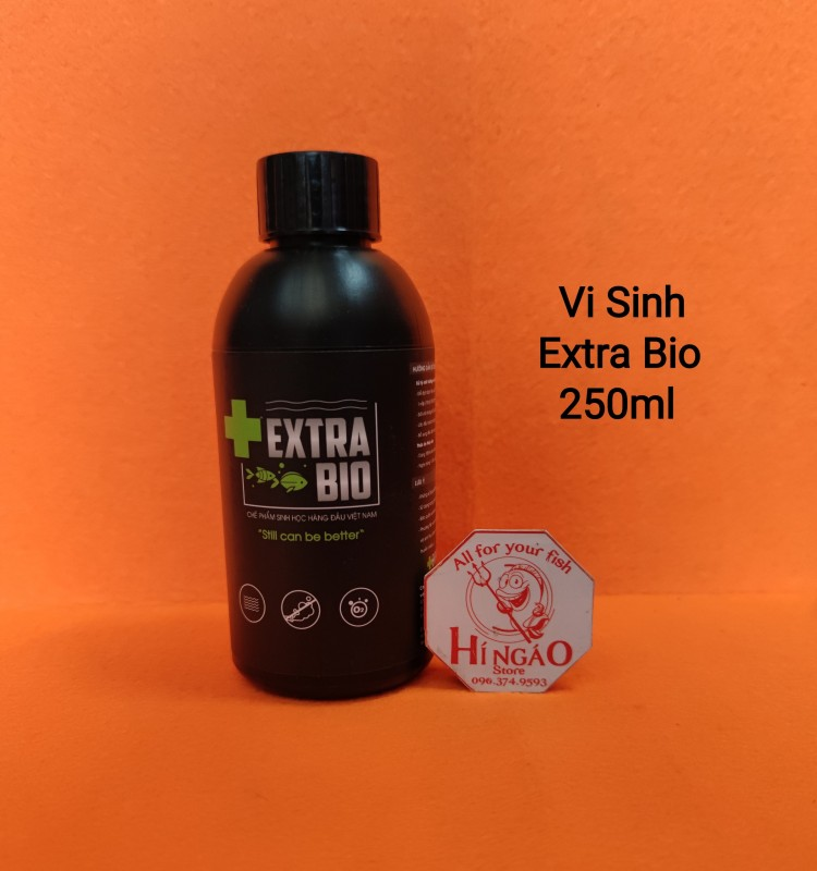Vi Sinh Extra Bio 250ml - Vi sinh làm trong nước bể cá - Phụ Kiện Cá Cảnh | Hingaostore.