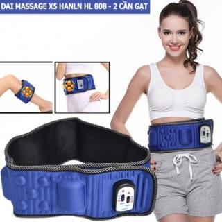[HCM]Đai massage giảm mỡ bụng HCR-X6 loại có dây không dây dùng pin sạc Đai massage giảm mỡ bụng HCR-X6 Lazada.vn Hàng Cực Rẻ - Đai massage giảm mỡ bụng HCR-X6. thumbnail