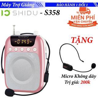 [TẶNG] Micro Trợ giảng không dây FM + Máy Loa trợ giảng không dây từ xa SHIDU SD-S358 thumbnail