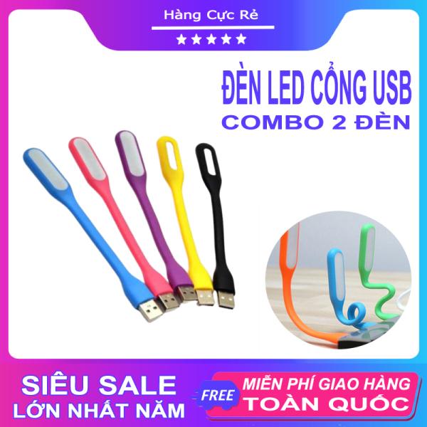 Bảng giá Bộ 2 đèn LED USB siêu sáng - Chất liệu nhựa dẹo uốn cong dễ dàng - Tiện dụng làm đèn ngủ, đèn bàn, đèn đọc sách, đèn trợ sáng laptop làm việc - Shop Hàng Cực Rẻ
