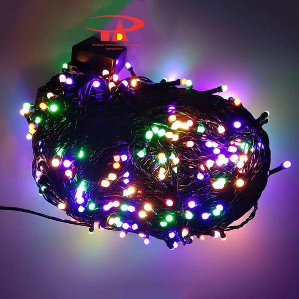 Bảng giá Dây đèn Led lục giác dài 50m nhấp nháy nhiều màu dùng trang trí Sân Vườn, Gia Đình, Quán, Noel, ... Chúc Mừng Năm Mới quà Tết 2021