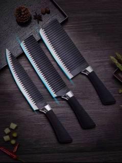 [COMBO DAO Bộ 3 dao thép không gỉ gợn sóng chống dính siêu bén (chuyên thái, lọc thịt, gọt hoa quả) thumbnail
