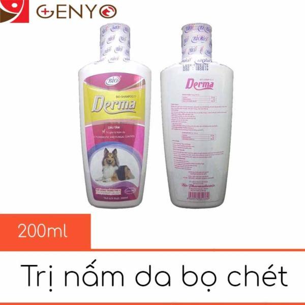 Sữa Tắm Trị Demodex Nấm Da Ve Ghẻ Bọ Chét Chó Mèo - Bio Derma 200ml