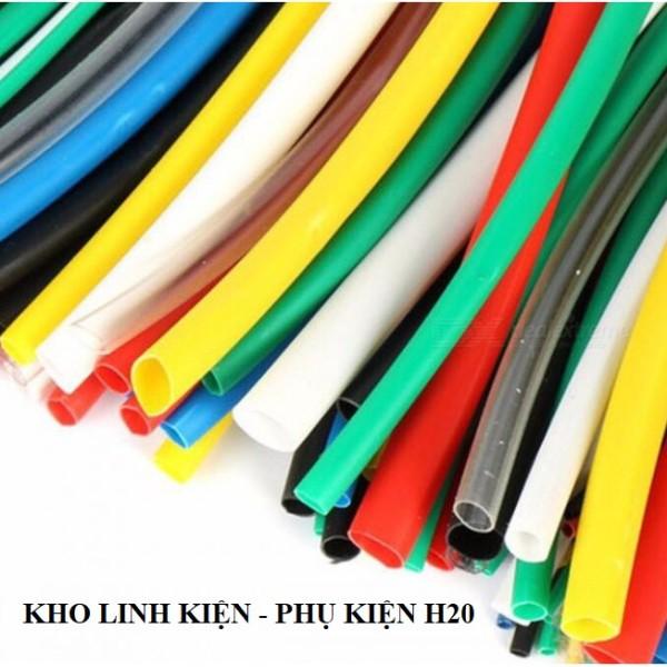 Bảng giá [XẢ KHO 3 NGÀY] 2m-Ống dây gen co nhiệt cách điện nhiều màu sắc kích cỡ Lakisan|An toàn-thẩm mỹ-đơn giản cho mối nối mối hàn-Giải pháp của các kỹ thuật viên