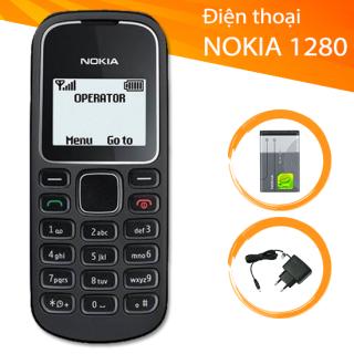 Điện Thoại Nokia 1280 - Full Phụ Kiện - Sóng Khỏe - Siêu Bền thumbnail