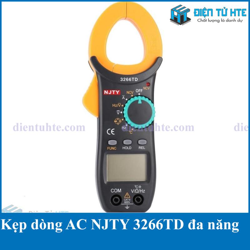 Ampe kìm NJTY 3266TD (Nhiều chức năng) Bảo hành 1 tháng