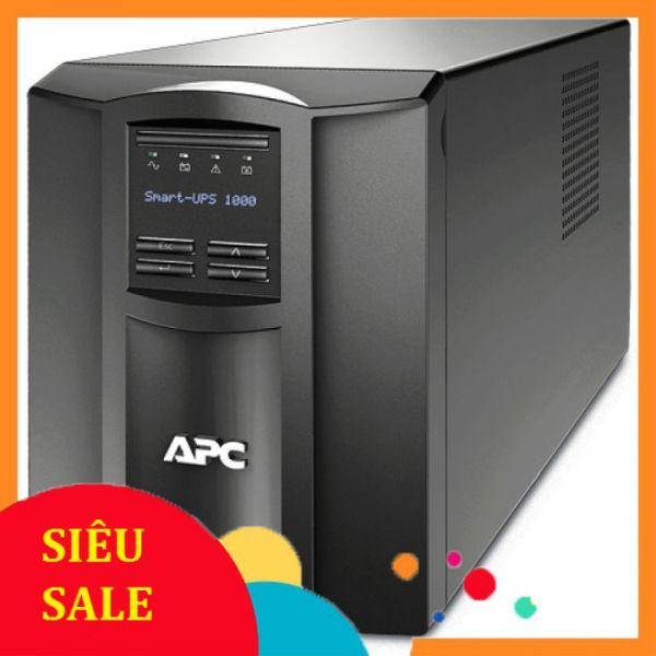 Bảng giá ♻️CHÍNH HÃNG♻️ Bộ lưu điện UPS APC Smart-UPS 1000VA LCD 230V (SMC1000I) Phong Vũ