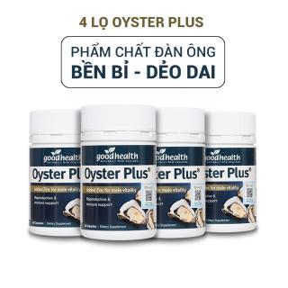 (combo 4 Lọ)Tinh chất hàu Goodhealth Oyster Plus 60v Giúp Tăng cường sinh lý nam, tăng cường sức khỏe - nhập khẩu chính hãng New Zeland thumbnail