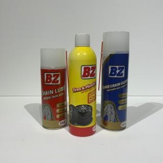 Combo Vệ Sinh Sên - Dưỡng Sên - Dưỡng nhựa nhám bóng vỏ BZ thumbnail
