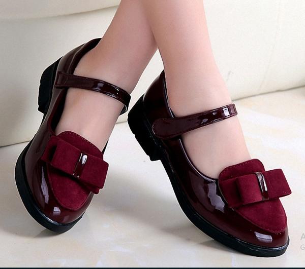 Giá bán Giày búp bê hàn quốc nơ xinh cho bé gái  3 - 13 tuổi - G1