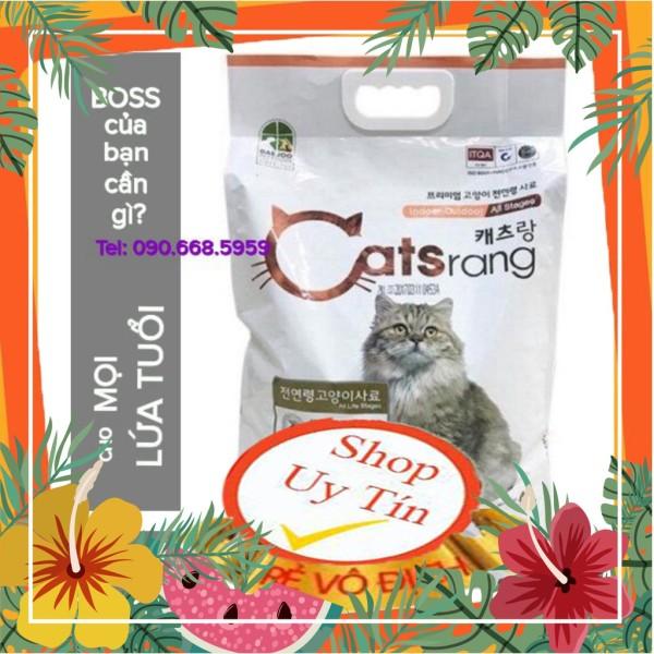 Thức ăn hạt cho mèo mọi lứa tuổi Catsrang 5Kg