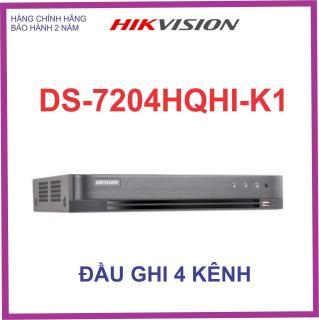Đầu ghi hình HIKVISION 4 KÊNH TURBO 4.0 DS-7204HQHI-K1 thumbnail